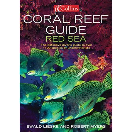 Coral Reef Guide: Red Sea : The Definitive Guide to Over 1200 Species of Underwater Life Coral Sea Reef Guide