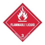 LABELMASTER HML6C Flammable Liquid Label,100x100mm,PK100 G0551866