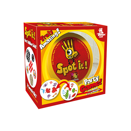 Spot it! Card Game - Halloween Drinking Games 2017