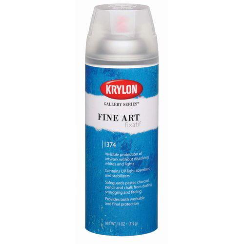 Krylon Gallery Series Fine Art Fixatif Spray