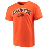 Men's Russell Athletic Orange Oklahoma State Cowboys Core Print T-Shirt
