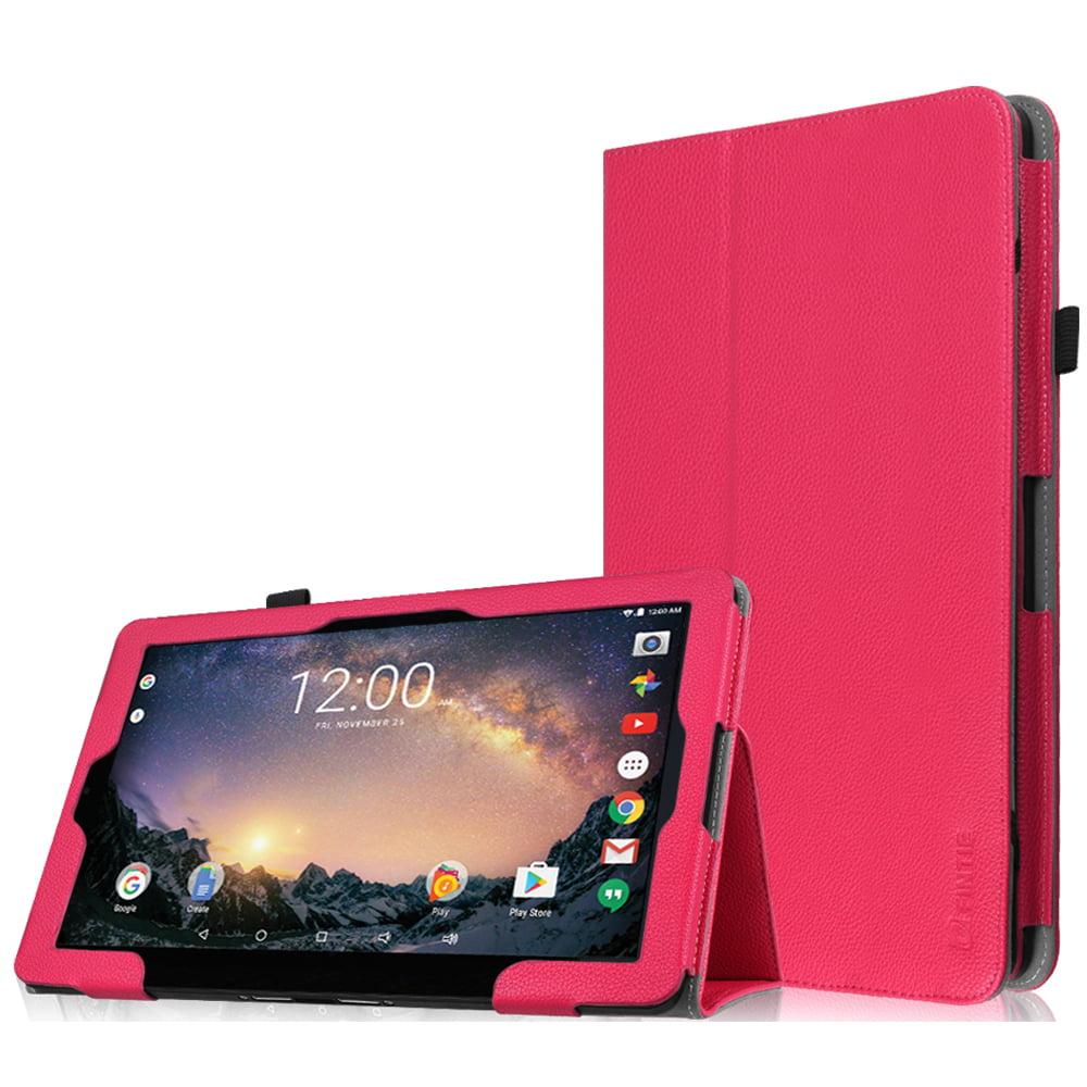 """Fintie RCA 11 Galileo Pro11.5"""" Tablet Case (RCT6513W87DK C)- Premium Vegan Leather Folio Stand Cover, Magenta"""
