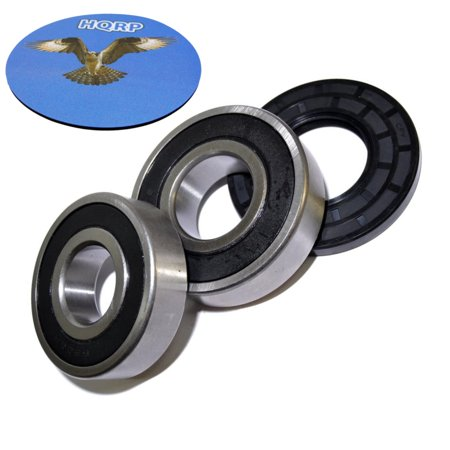 HQRP Bearing and Seal Kit for Frigidaire GLEH1642DS1 GLEH1642FS0 GLEH1642FS1 GLEH1642FS2 GLEH1642FS3 GLEH1642FS4 Front Load Washing Machine Washer Tub + HQRP
