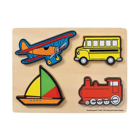 Excellerations Vehicles Chunky Puzzles (Item # - Discount Puzzles