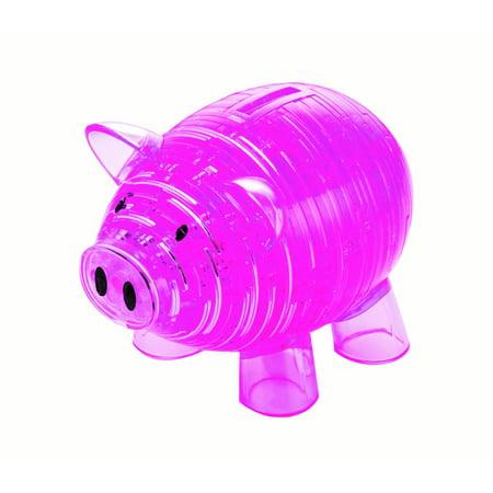 Deluxe 3D Crystal Puzzle - Piggy Bank - 3d Halloween Games