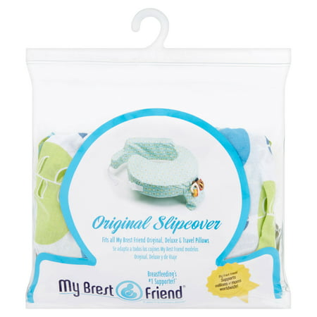 My Brest Friend Original Nursing Pillow Slipcover (pillow not included),