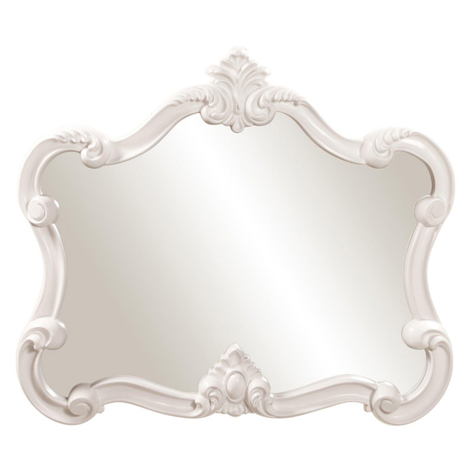 Elizabeth Austin Veruca Wall Mirror - White 32W x 28H in.