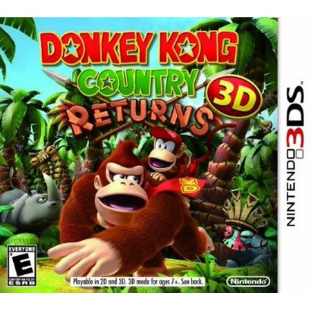 Nintendo Donkey Kong Country Returns 3d