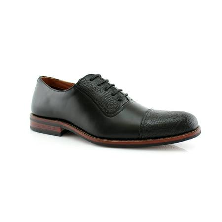 Ferro Aldo Sam MFA19509L Black Color Men's Dress Shoes For Work and