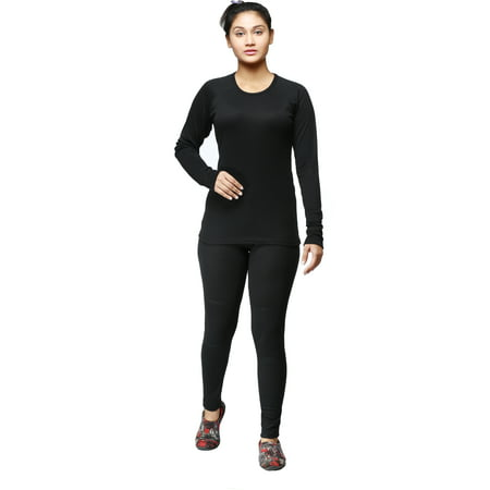 Ladies Winter Long Johns 2-Piece thermal Underwear (Winter Weight Thermal)