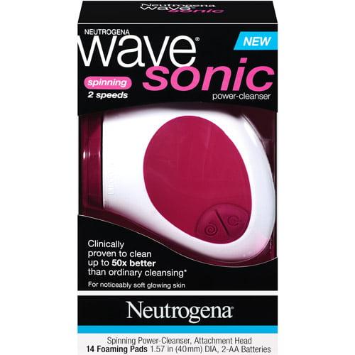Neutrogena Wave Sonic 2 Speed Spin Power Cleanser, 1ct