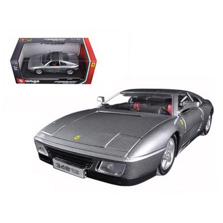 Ferrari 348 TS Grey 1/18 Diecast Model Car by (Ferrari 348 Ts)