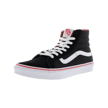 63ea45db4b5e93 Vans Sk8-Hi Slim Windsor Wine Ankle-High Canvas Skateboarding Shoe - 5.5M  ...
