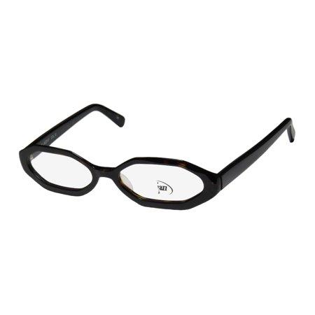 New Jazz 147 Mens/Womens Designer Full-Rim Havana Inexpensive Hip Imported From Italy Frame Demo Lenses 49-16-140 (Sunglasses From Italy)