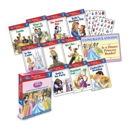 Disney Princess Reading Adventures Disney Princess Level 1 Boxed (Best Time To Travel To Disney World)