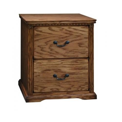 Legends Furniture  SD6806.RST Scottsdale 2 Drawer File Cabinet in Rustique