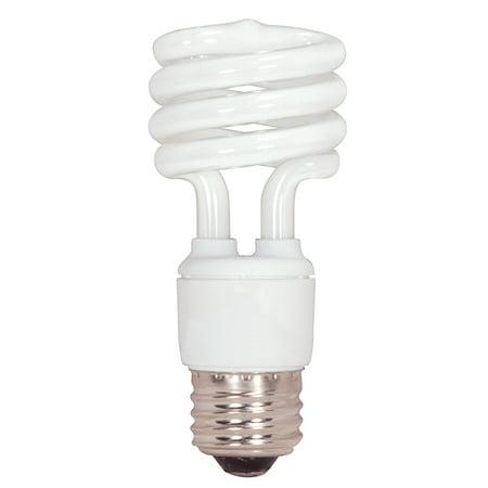 15w Spiral (Satco S7223 15W T2 Ultra Mini Spirals Screw-In 5000K fluorescent)