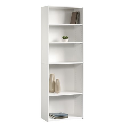 Sauder Beginnings 5-Shelf Bookcase, Soft