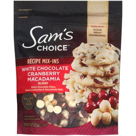 Sam S Choice Cranberry Macadamia White Chocolate