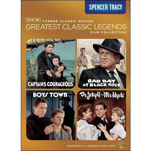 TCM Greatest Classic Films: Legends - Spencer Tracy - Captains Courageous / Boys Town / Dr. Jekyll And Mr. Hyde / Bad Day At Black Rock