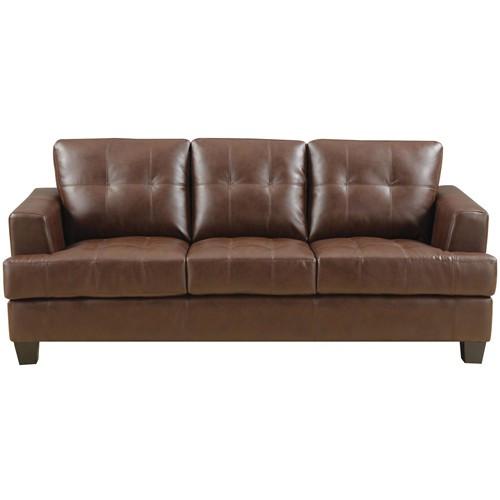 Wildon Home  Gloucester Leather Sofa