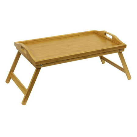 Home Basics Bamboo Breakfast Bed Tray, Natural](Breakfast Bed Tray)