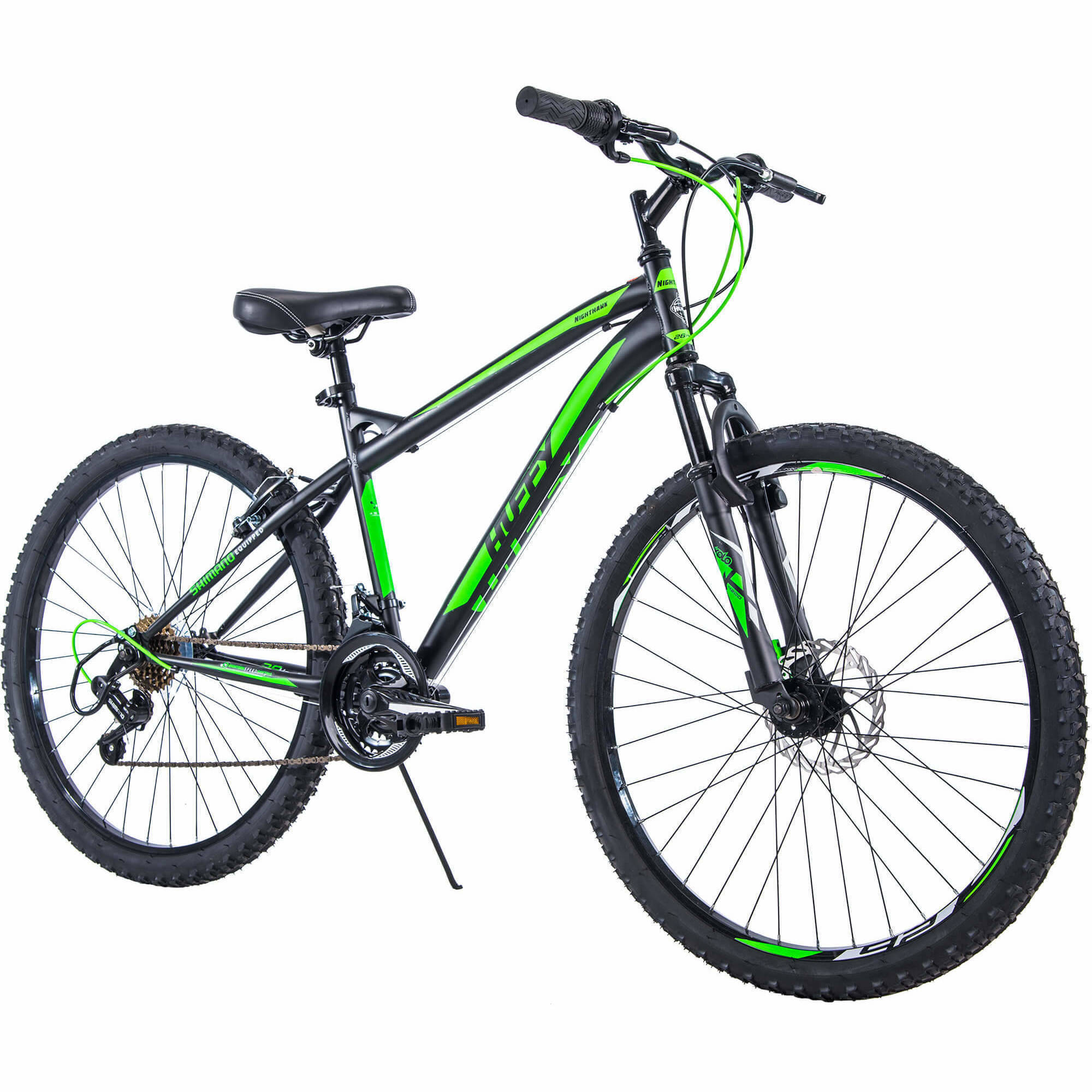 "Huffy 26"" Nighthawk Men's Mountain Bike, Black"