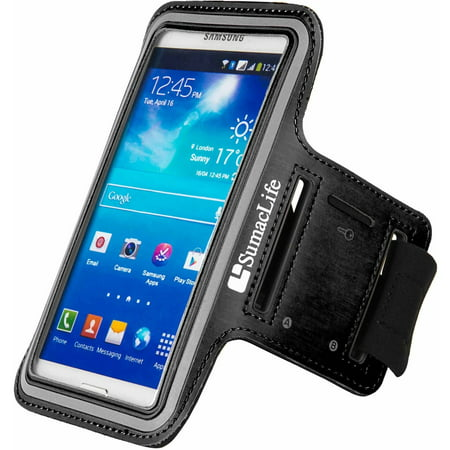 Neoprene Adjustable Training Armband With Key Slot for small to medium built arms fits up to 5.5in x 2.75in Phones (5.5 - 5.75in