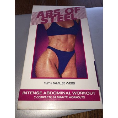 Steel Vhs - Abs of Steel - V. 1 VHS, 1992 Exercise Fitness Video Tape