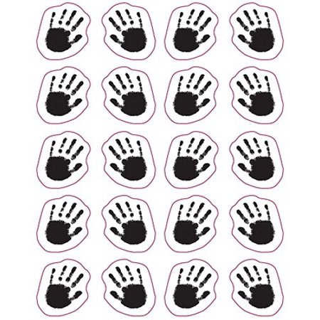 Handprints Shape Stickers - Turkey Handprint Craft