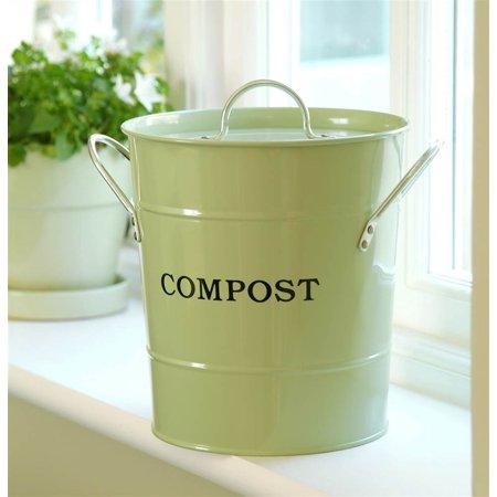 2 in 1 Kitchen Bucket in Soft Green
