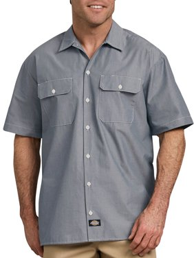 9370d9cd93 Free shipping on orders over $35. Free pickup. Product Image Men's Relaxed  Fit Short Sleeve Chambray Shirt