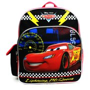 Mini Backpack - Disney - Cars - Lightning McQueen Black New A08493