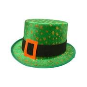 Saint Patricks Day Green Shamrock Leprechaun Top Hat Costume Accessory