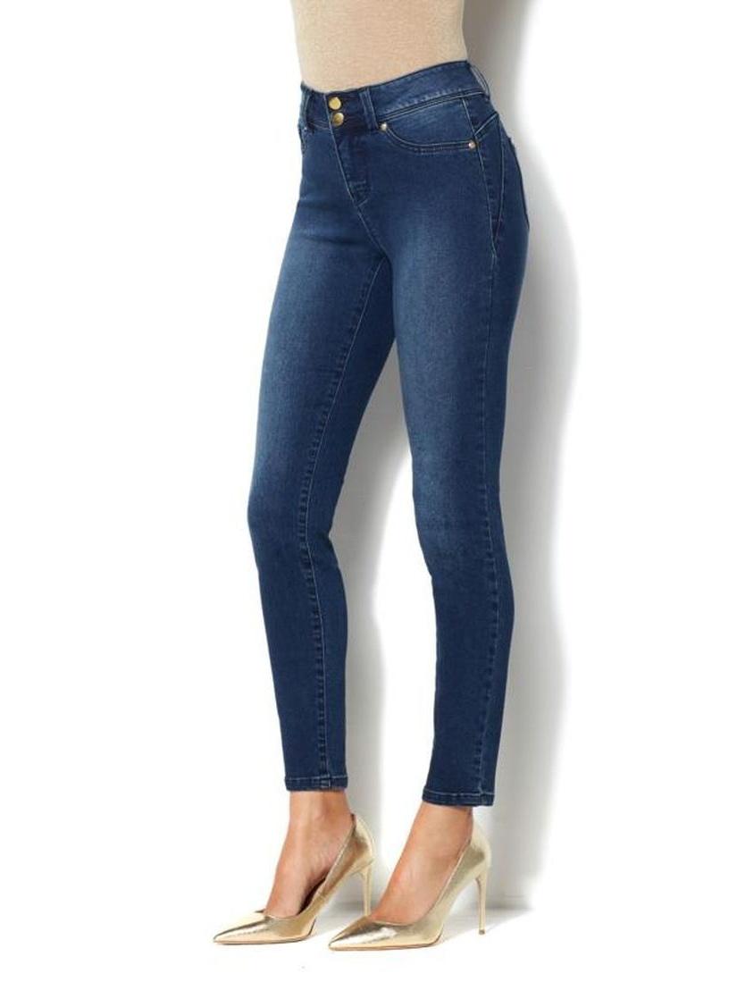 IMAN Luxury Denim Perfect Fit Jean Skinny 556-483