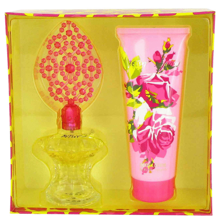 Betsey Johnson - Gift Set -- 3.4 oz Eau De Parfum Spray + 6.7 oz Body Lotion - 2pcs