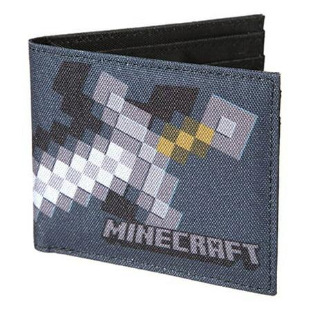 Billabong Bi Fold Wallet (Minecraft Sword Black Bi-Fold Wallet)