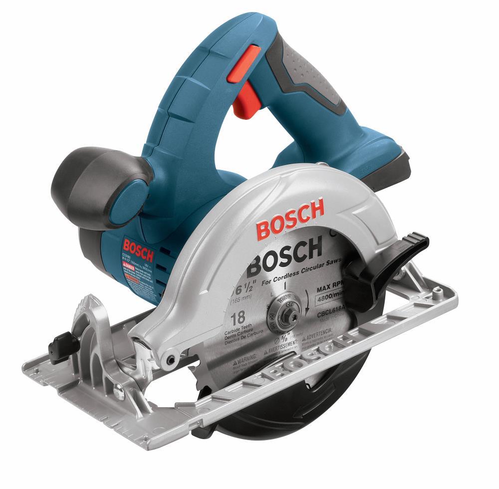 Bosch CCS180B 18v Battery Powered 6 1/2 Inch Cordless Circular Saw, Tool Only