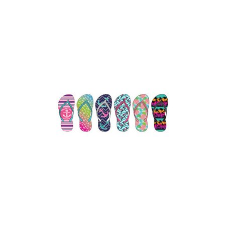 1de69669925d8 MISC NOVELTY CLOTHING - MISC NOVELTY CLOTHING ZTL2541 A WOMEN S TROPICAL  PRINTED FLIP FLOPS ASSORTMENT - Walmart.com
