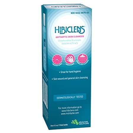 2 Pack - HIBICLENS Antiseptic Liquid Skin Cleanser - 4 oz Each
