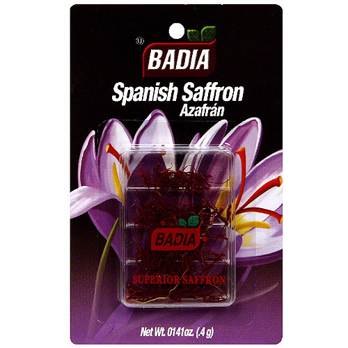 Badia Spanish Saffron Threads, 0.4GM (Pack of 12) by Generic