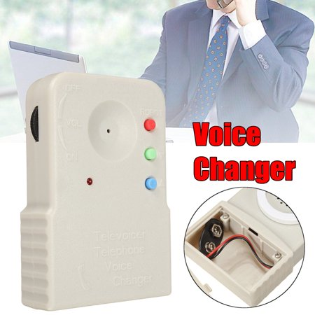 Wireless Mini 8 Multi Voice Changer Synthesizer Digitizer Microphone Disguiser - Voice Disguiser