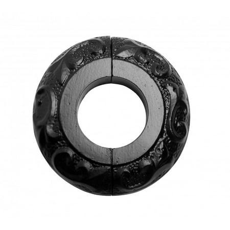 Black Ice Xtreme Radiator (Radiator Flange Black Aluminum Escutcheon 1 1/4 ID )