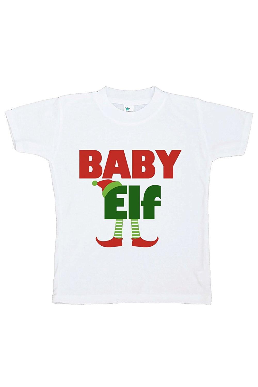 Custom Party Shop Youth Baby Elf Christmas T-shirt - XL (18-20) T-shirt