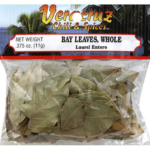 Veracruz Chili & Spices Whole Bay Leaves, 0.375 oz, (Pack of 12)