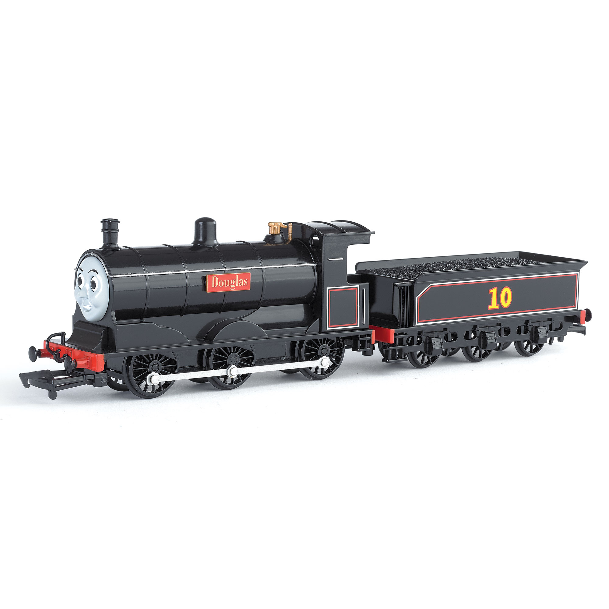 Bachmann Trains Thomas and Friends Douglas Locomotive with Moving Eyes, HO Scale Train by Bachmann