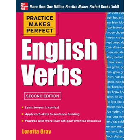 Practice Makes Perfect English Verbs, 2nd Edition : With 125 Exercises + Free Flashcard
