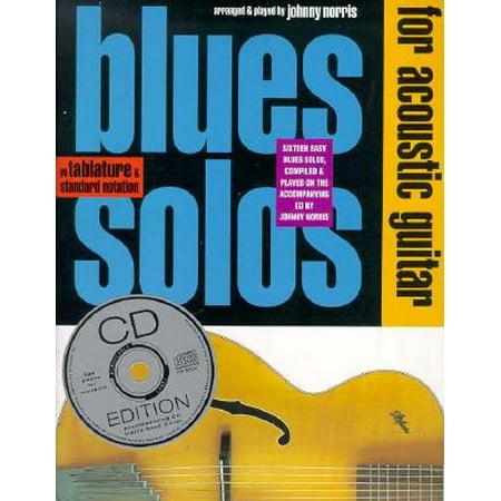Blues Solos for Acoustic Guitar