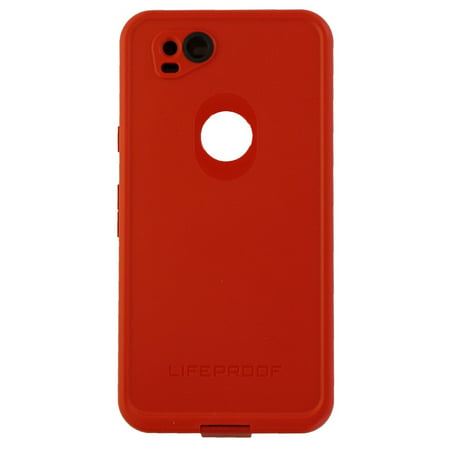 sports shoes 6586f 74f2b LifeProof FRE Series Waterproof Case Cover for Google Pixel 2 - Red/Gray