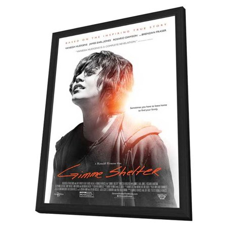 Gimme Shelter  2014  11X17 Framed Movie Poster